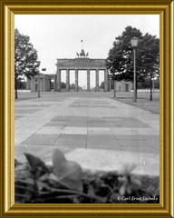 Da stand die Mauer noch...(502x anges.) (Carl-Ernst Stahnke) Tags: berlin mauer schutzwall ddr wall westberlin ostberlin grenze brandenburgertor absperrung grenzpolizei brd staatsgrenze mauertote schiesbefehl