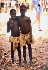 Gambian boys