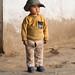 Boy near Kuqa mosque
