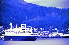 Ketchikan and SS Rotterdam (D70) Tags: ketchikan rotterdam alaska unitedstates ss