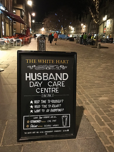 """The White Hart, Edinburg • <a style=""""font-size:0.8em;"""" href=""""http://www.flickr.com/photos/22350928@N02/39831220154/"""" target=""""_blank"""">View on Flickr</a>"""
