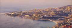 Maameltein From Harissa (Paul Saad) Tags: pano panorama panoramic jounieh lebanon harissa maameltein casinoduliban sea coast beach