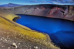 Ljoetpollur Crater, Iceland (klauslang99) Tags: klauslang nature europe ljoetpollur crater iceland landscape water ngc
