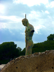 Dedal by Igor Mitoraj, Pompei (damian.langer) Tags: italy pompei ancient campania mitoraj sculpture dedal passionphotography travelphotography travel