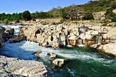 Cascades du Sautadet - Gard - Occitanie (Nathery Reflets) Tags: paysage nature cascade eau marmites chutedeau site rivière rochecalcaire trousdeau chaudron érosion cèze cascadesdusautadet gard occitanie