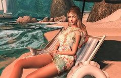 Love The Beach Life (JoytiBloom of Second Life) Tags: groupgift free cl mesh bento maitreya belleza slink tmp ebody classic