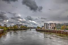 sur l'erdre (patrick Thiaudiere, thanks for + 2.5 millions view) Tags: nantes nuage cloud water river rivière eau buiding immeuble quai dock pont bridge gris grey