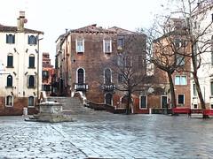 Early Morning far from San Marco (Izzy's Curiosity Cabinet) Tags: venise venezia venice campo dei gesuiti
