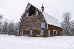 Brief Return (henryhintermeister) Tags: barns minnesota oldbarns clouds farming countryliving country sunsets storms sunrises pastures nostalgia skies outdoors seasons field hay silos dairybarns building architecture outdoor winter serene grass landscape plant cloudsstormssunsetssunrises cambridgemn