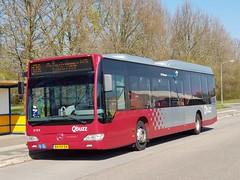 NLD Qbuzz 3158 - 178 ● Siddeburen Leeuwerikhoogte (Roderik-D) Tags: qbuzz31003301 3158 bxfv54 mercedesbenz o530ü citaro2 2009 savas bege siddeburen wensink dieselbus euro5 capacity40481 lijnbus 2axle 2doors überlandbus streekbus busoftheyear2007