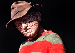 fred (gro57074@bigpond.net.au) Tags: olympicpark 2019 april sydney guyclift f100 sport 150600mm sigma d850 nikon color colour nightmareonelmstreet nightmare freddykrueger royaleastershow horror portrait fred