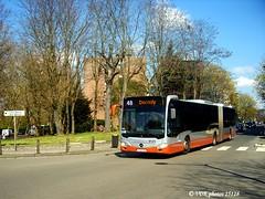 9125-25128§0 (VDKphotos) Tags: stib mivb mercedes o530g citaro livrée06 l48 autobus articulé belgium bruxelles