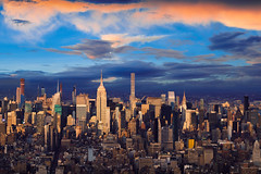 New York city skyline (Patrick Foto ;)) Tags: newyorkcity newyork unitedstates aerialview architecture buildingexterior business city citylife citystreet cityscape colorimage day district downtowndistrict dusk empire empirestatebuilding famousplace finance financeandeconomy horizontal internationallandmark large lightingequipment manhattannewyorkcity midtownmanhattan modern newyorkstate nopeople office outdoors panoramic publicpark river rooftop sky skyscraper street sunset tallhigh tiltshift tourism tower travel traveldestinations twilight urbanskyline urbansprawl usa