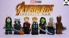 """The Thanos-Killing Kind"" [Infinity War - #04] (HaphazardPanda) Tags: lego figs fig figures figure minifigs minifig minifigures minifigure purist purists character characters comics comic book books story group super hero heroes superhero superheroes marvel mcu avengers infinity war endgame captain america iron man spiderman machine falcon vision scarlet witch white wolf winter soldier okeye black panther shuri nomad widow thor bruce banner hulk groot guardians galaxy rocket raccoon gamora nebula doctor strange starlord quill drax mantis wong gauntlet stones thanos stormbreaker"