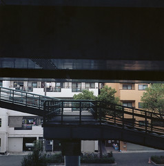 Ashiharacho (Vinzent M) Tags: 芦原町 ashiharacho japan zniv tlr rollei rolleiflex 35 zeiss planar osaka 日本 大阪 kodak ektar