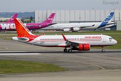 F-WWIC Airbus A320 Neo Air India (@Eurospot) Tags: vtexr fwwic airbus a320 neo 8917 toulouse blagnac airindia