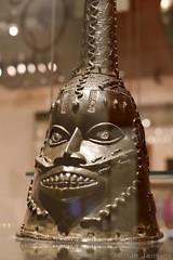 Head Worn for the Odudua Masquerade (18th Century) (Bri_J) Tags: britishmuseum london uk museum historymuseum nikon d7500 head oduduamasquerade benin nigeria africanart