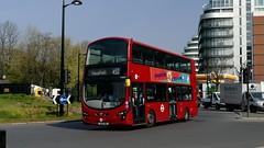 Daily Business (londonbusexplorer) Tags: tower transit volvo b9tl wrightbus gemini 2 vn36101 bj11dse 452 kensal rise vauxhall tfl london buses