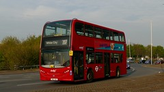 Early Starter (londonbusexplorer) Tags: abellio london adl enviro 400 9534 sn12abz 207 white city hayes by pass tfl buses