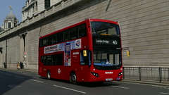 Evo Goes To The Bank (londonbusexplorer) Tags: metroline travel volvo b5lh mcv evoseti vmh2576 la68dwx 43 friern barnet london bridge tfl buses