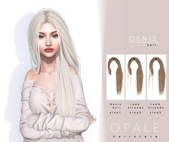 Opale . Denis Hair @ Cupid Inc. February 2019 (Opale HairStore) Tags: 3d opale hair salon sl second life event cupid denis