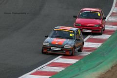 Classic Stock Hatch Championship * ({House} Photography) Tags: 750 motor club classic stock hatch championship hot racing race motorsport sport car automotive brands uk kent fawkham track indy circuit housephotography timothyhouse canon 70d sigma 150600 contemporary peugeot 205 gti french ford fiesta xr2i