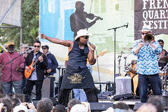 French Quarter Fest 2019 - Rockin' Dopsie Jr.