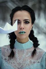 origami (Melodyphoto3) Tags: photo photography art artphoto fineart vintage bokeh dress fairytale fashion princess canon canon50 canon85 origami makeup