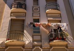 (TMStorari) Tags: lisboa lisbona lisbon lights shadows balcony window windows portogallo portugal cityscapes città palazzi palazzo building reallife life people oldtown centrostorico urban urbanstyle urbanexploring facciata facade