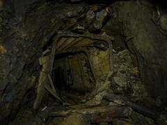 T. mine (LopazV) Tags: urbex urbanexploration urban abandoned abandonedmine dark panasonic decay industrial underground industrialdecay exploration heavy cave mine light old
