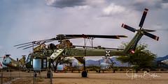 CH-54 Tarhe (Sky Crane) Helicopter (Jeffrey Balfus (thx for 5.5M views)) Tags: pimaair sonya7iii ilce7m3 tucson az us fe24240mmf3563oss sel24240 militaryjets militaryaircraft tarhe skycrane helicopter