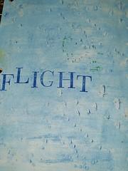 Flight (limerickme) Tags: mixed media art journal