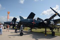 EAA2018Fri-0405 Grumman F7F-3N Tigercat 375 NX379AK 80375 (kurtsj00) Tags: eaa 2018 friday oshkosh osh18 airventure grumman f7f3n tigercat 375 nx379ak 80375