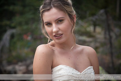 She's Just a Little Shy (Laura K Bellamy) Tags: bride bridal bridals portraits wedding weddings
