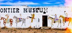 (Talisman39) Tags: travel themotherroad ruins abandonment mural lightleak frontiermuseum newmexico nm route66 santarosa
