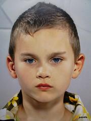 serious (mknt367 (Panda)) Tags: portrait kid teen boy serious blueeyes