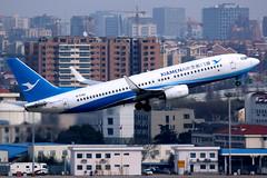Xiamen Airlines | Boeing 737-800 | B-5382 | Shanghai Hongqiao (Dennis HKG) Tags: aircraft airplane airport plane planespotting skyteam canon 7d 100400 shanghai hongqiao zsss sha xiamen xiamenairlines mf cxa boeing 737 737800 boeing737 boeing737800 b5382