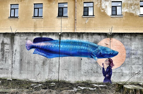 Psychodelic graffiti. St. Petersburg style ©  Sergei_41