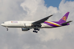 Thai Airways International (maidensphotography) Tags: airport airways airbus airlines airline aircraft aviation airliners canon camera cute dslr flicker flickr suvarnabhumiairport bangkok thailand planespotter planespotting