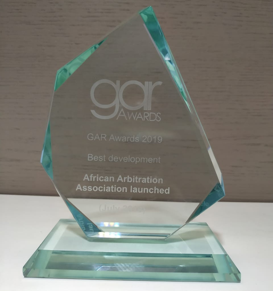 The 2019 GAR Award for Best Development goes to the launch of the African Arbitration Association by