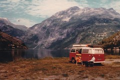 those were the days (Grenzeloos1) Tags: vw van camper 1970s norway travels