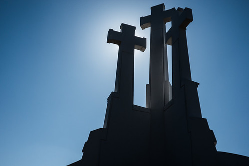 Hill of Three Crosses; Vilnius, Lithuania