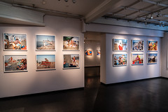 """Life´s a beach"" by Magnum photographer Martin Parr at Perspektivet Museum in Tromsø."