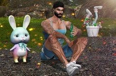 Relaxing After Training (Bryan Trend) Tags: head lelutka guy body belleza jake hair stealthic magnificent beard stache bento riot tanktop top shorts signature gianni slink adam fameshed event versov sneakers semotion pet animesh gacha soiree decor aphrodite men male gay model blogger sl secondlife second life new blog post