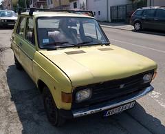 1979 Zastava 101 Confort (FromKG) Tags: zastava yugo 101 confort yellow car kragujevac serbia 2019