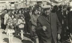 1 мая гор. Мозырь 1960-70-е гг. (М.И.КАШИРО)