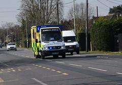 DSC_2922 Mercedes-Benz (PeaTJay) Tags: nikond750 berkshire reading winnersh outdoors roadvehicle emergencyservices publicservices ambulance mercedesbenz