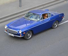 A Volvo P1800 Coupé (1961-1972) on La Défense ring road on 2019-03-27 (alaindurandpatrick) Tags: volvo volvop1800 cars classiccars swedishcars swedishclassiccars parisladéfense courbevoie ringroads 92 hautsdeseine iledefrance greaterparisarea france
