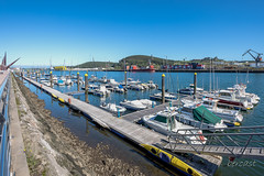 ESPAGNE - ASTURIES - AVILES -VILLE -QUAI DE LA RIA-partie du port de plaisance-BCN_4095 (bercast) Tags: 2017 asturies atlantique aviles espagne ocean octobre spain ue ville bc bercast