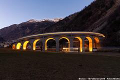 Viadotto elicoidale di Brusio (FabioMiottoPhoto.com) Tags: viadotto brusio elicoidale spirale loop rhb rhatische bahn ferrovia viafier grigioni svizzera unesco railway